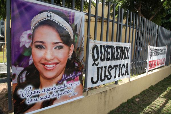Maria Luíza: Júri popular é adiado após renúncia de advogado