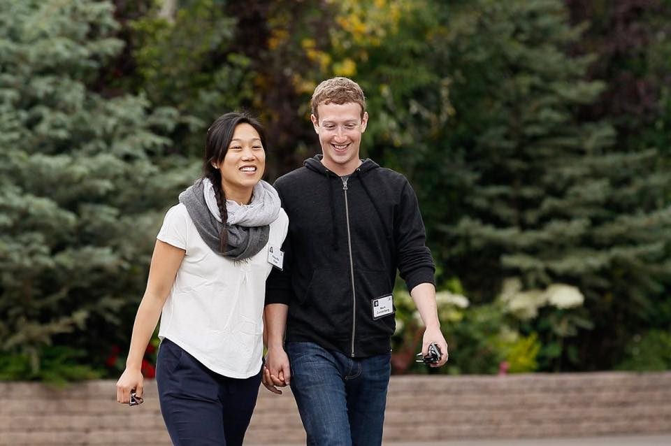 Zuckerberg e Priscilla Chan irão fundar escola para crianças de baixa renda