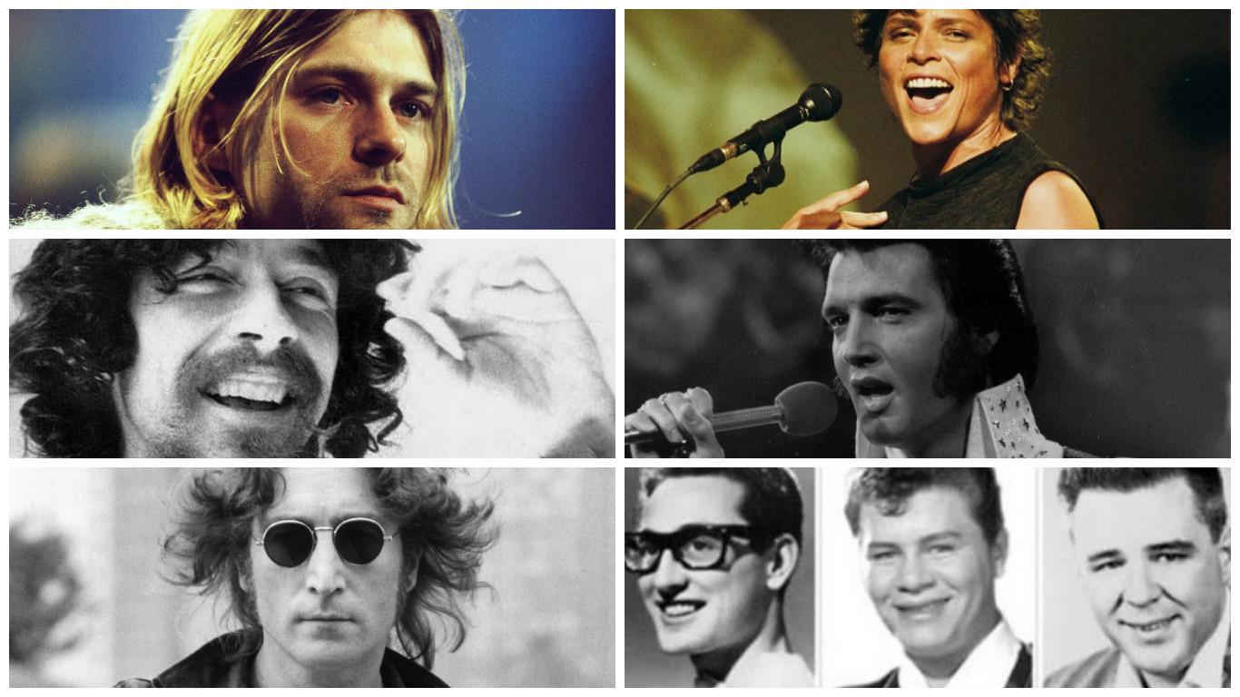 Conheça algumas estrelas da música que morreram cedo demais