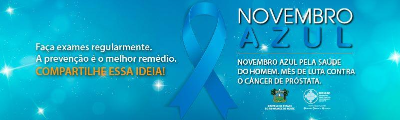 Novembro Azul: a vez dos homens contra o câncer