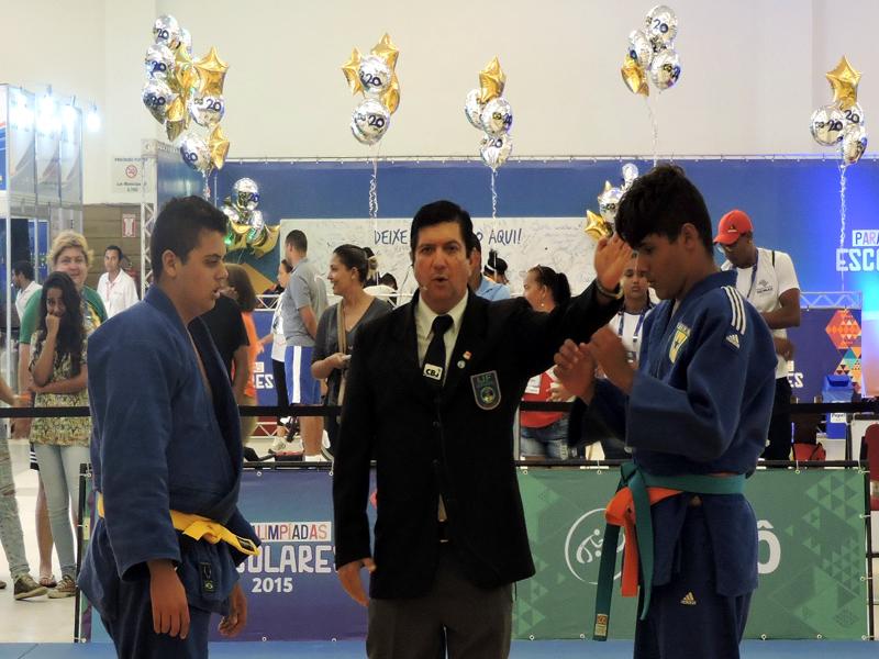 RN é ouro em judô e natação nas Paralimpíadas Escolares