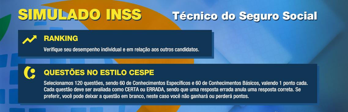 Simulado gratuito para o concurso do INSS