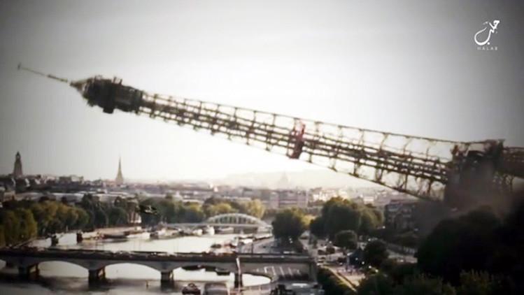 Estado Islâmico ameaça derrubar a Torre Eiffel