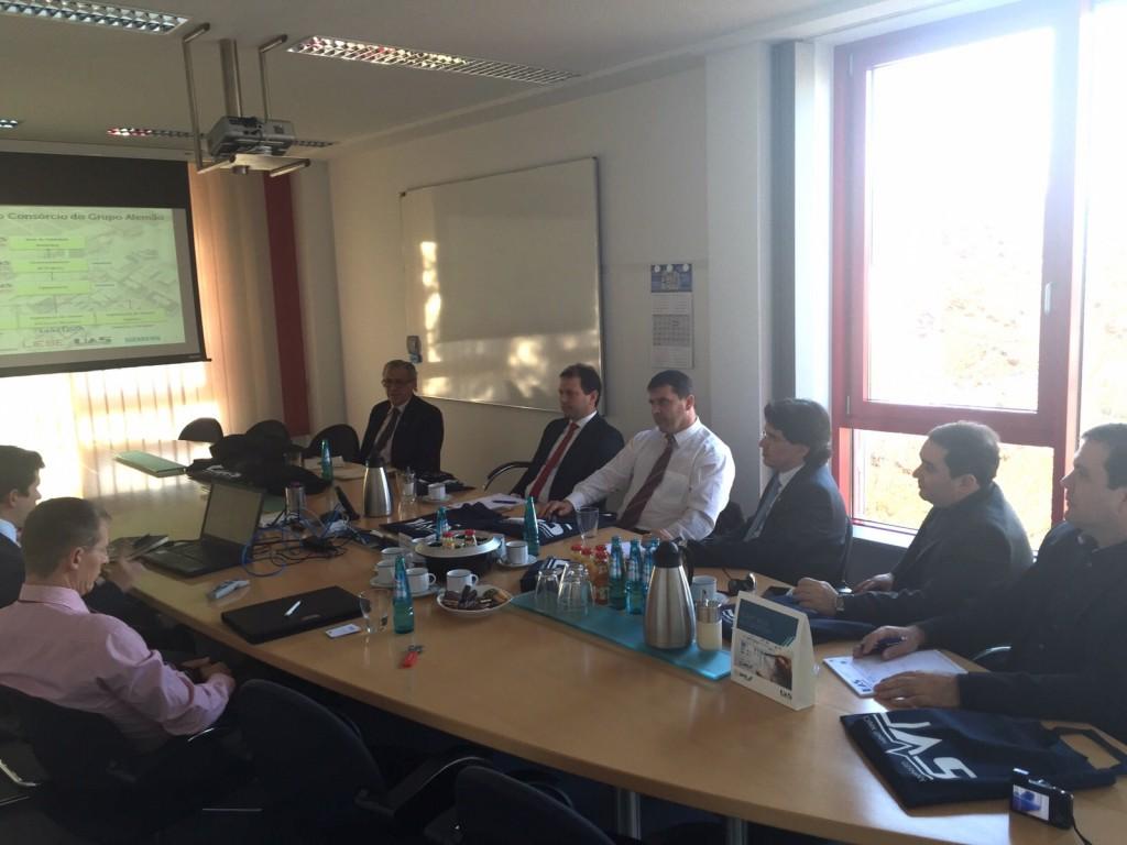Deputados do RN se reúnem com representantes de fábrica alemã de polissilício
