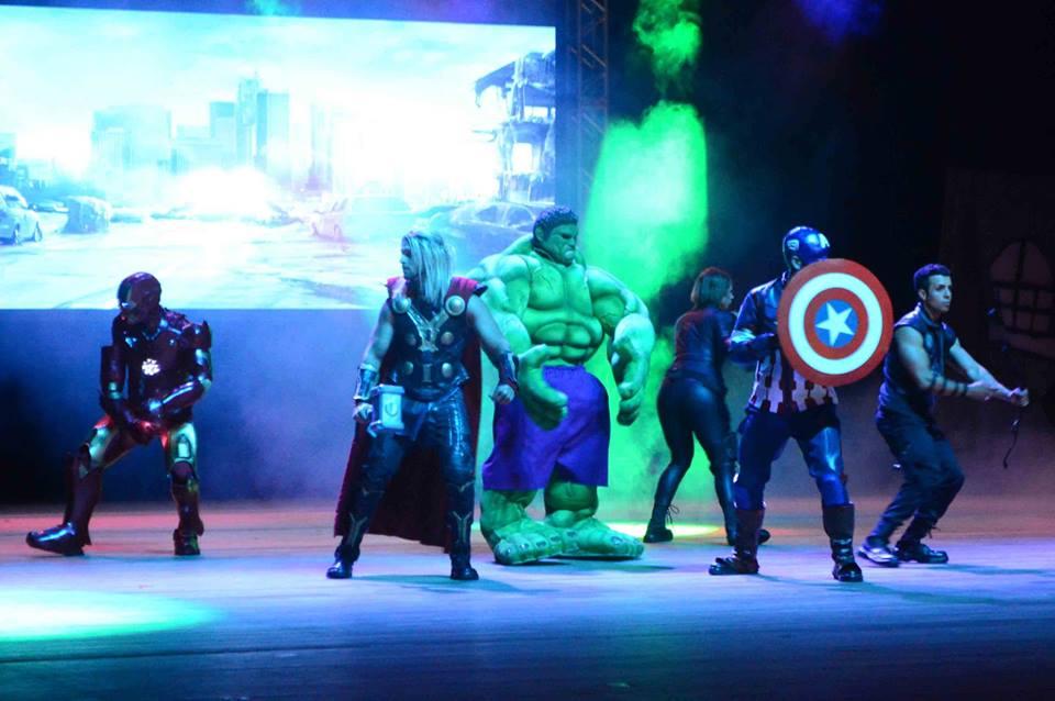 Inédito espetáculo 'Vingadores em Ação' chega ao Centro de Convenções de Natal
