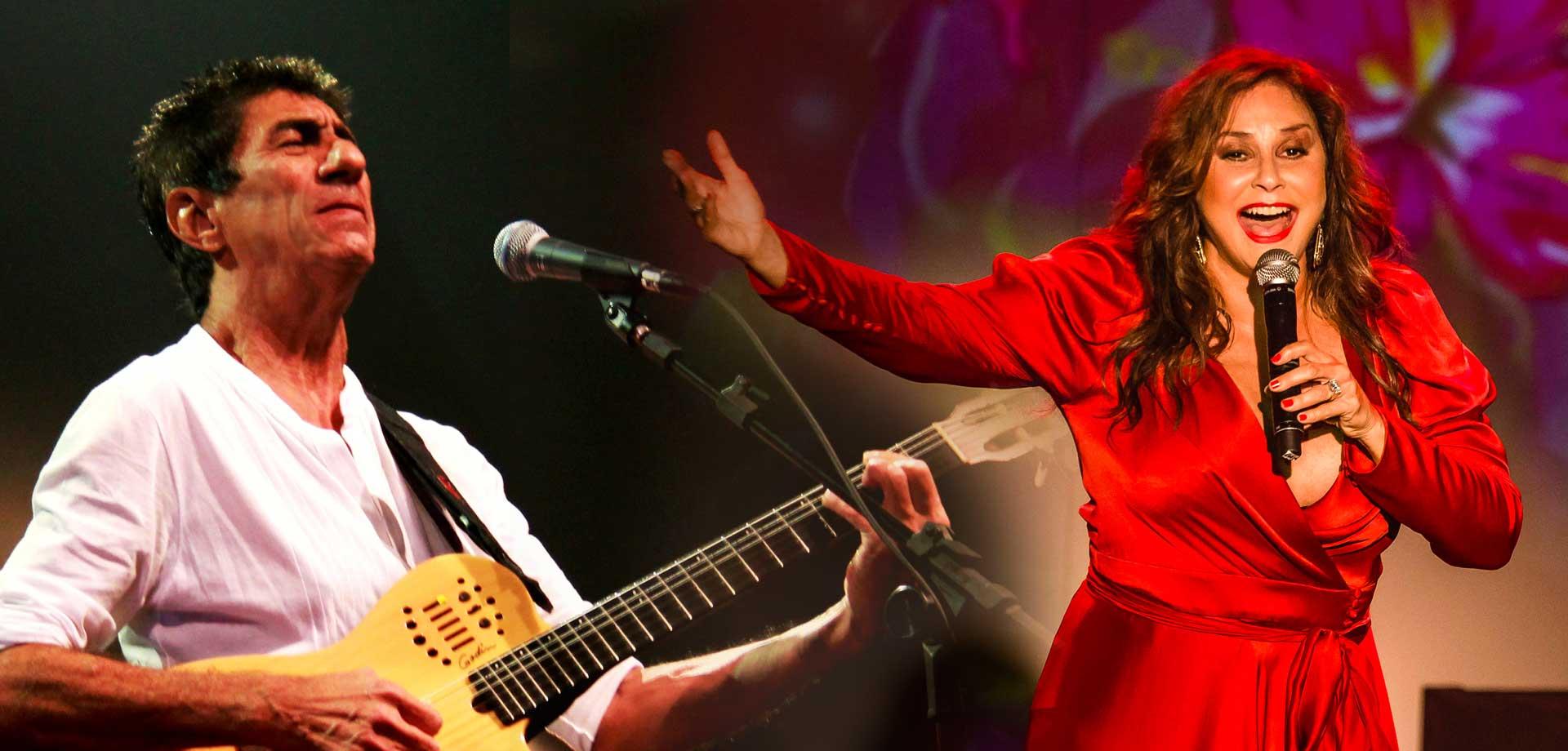 Fafá de Belém e Raimundo Fagner animam o 3º dia do Festival de Música de Natal