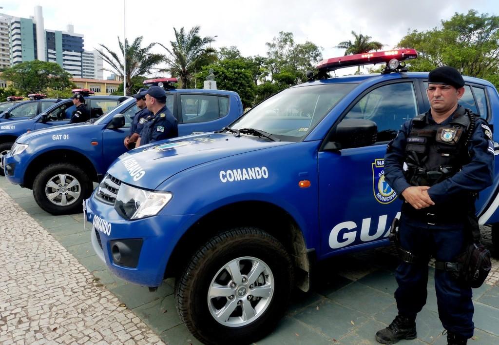 Guarda Municipal do Natal ganha novo armamento