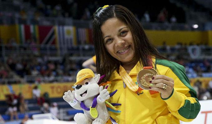 Potiguar é eleita segunda melhor atleta Paralímpica do Brasil