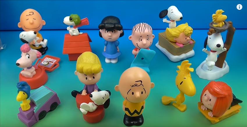 Snoopy & Charlie Brown serão os próximos brindes do McLanche Feliz