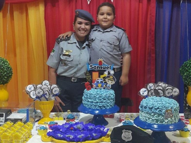 Ser policial, um sonho de criança