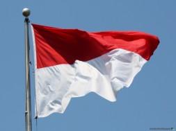 bandeira da indonesia