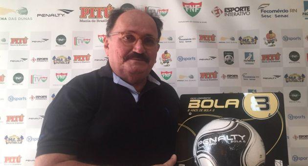 FNF apresenta a bola oficial do Campeonato Potiguar 2016