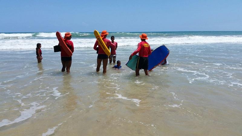 Corpo de Bombeiros reforça as ações preventivas no litoral potiguar