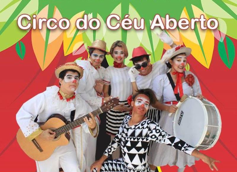 'Circo do Céu Aberto' anima o domingo do Parque das Dunas
