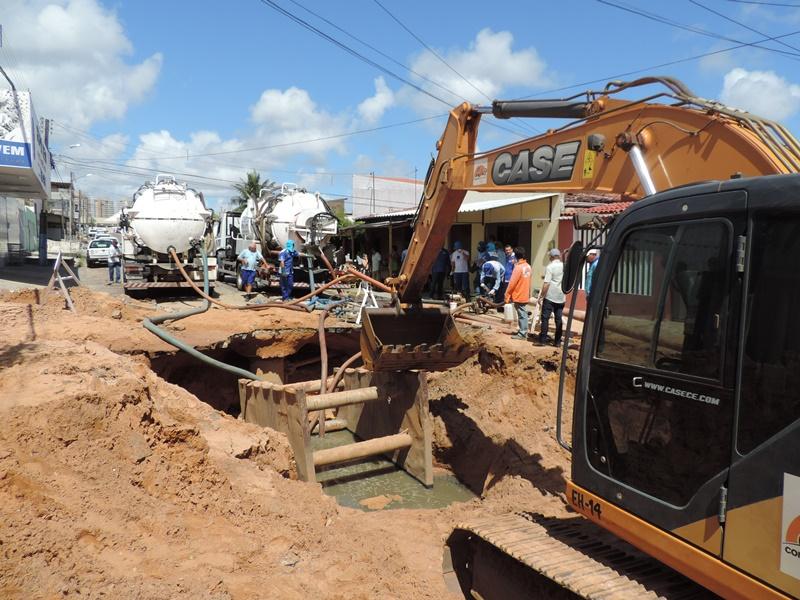 Caern mantém abastecimento de água na zona Oeste de Natal por tempo indeterminado