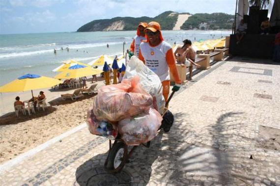 No dia 31 de dezembro, coleta de lixo terá horário diferenciado em Natal