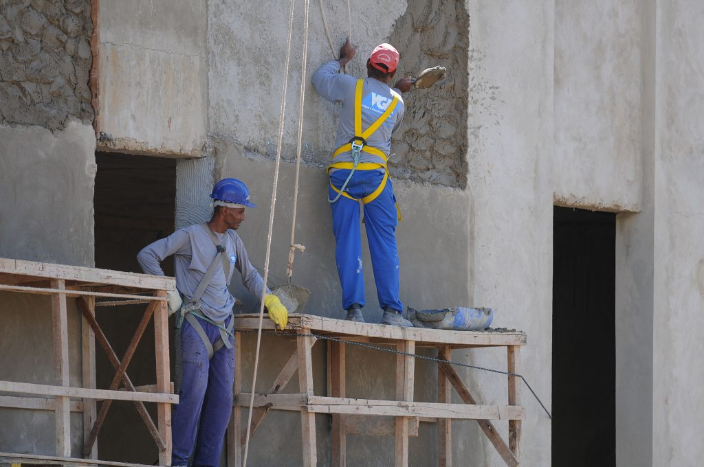 Inflação da construção civil varia 0,55% em janeiro
