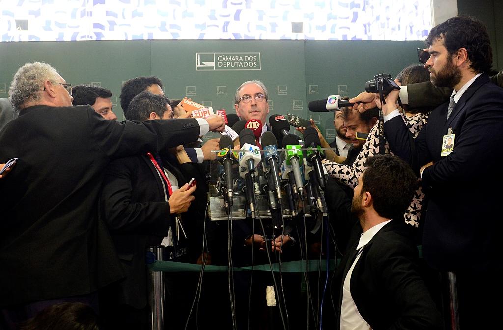Cunha afirma que é inocente e não vai renunciar