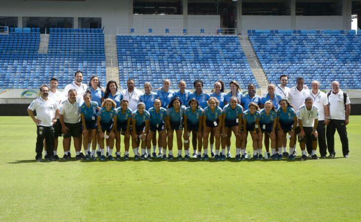 Seleção Feminina de futebol conhece a Arena das Dunas