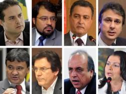 governadores apóiam dilma