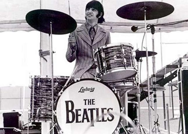 Bateria de Ringo Starr é leiloada por US$ 2,2 milhões