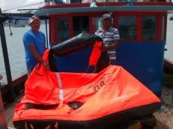 pescadores resgatados