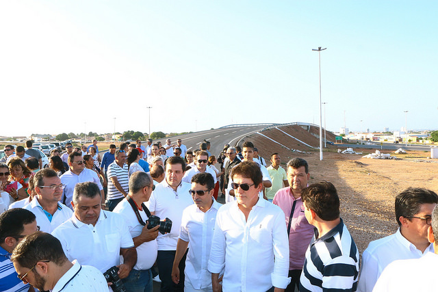 Viaduto V do Complexo Viário da Abolição é liberado em Mossoró