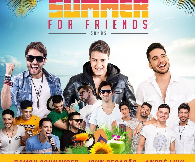 Ramon Schnayder é uma das atrações da 'Summer For Friends' sábado no Cirquinho