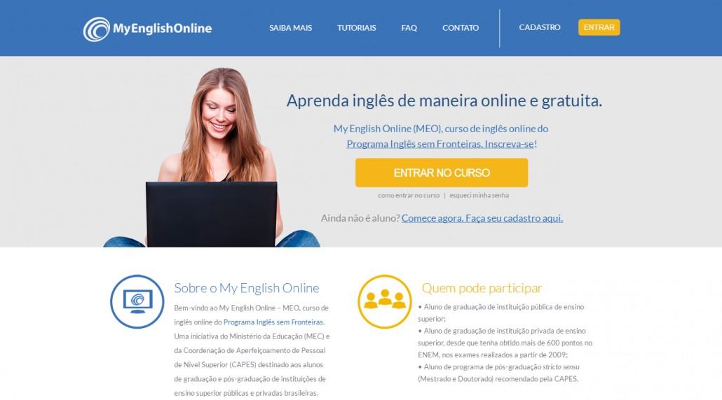 MEC oferece curso de inglês online gratuito