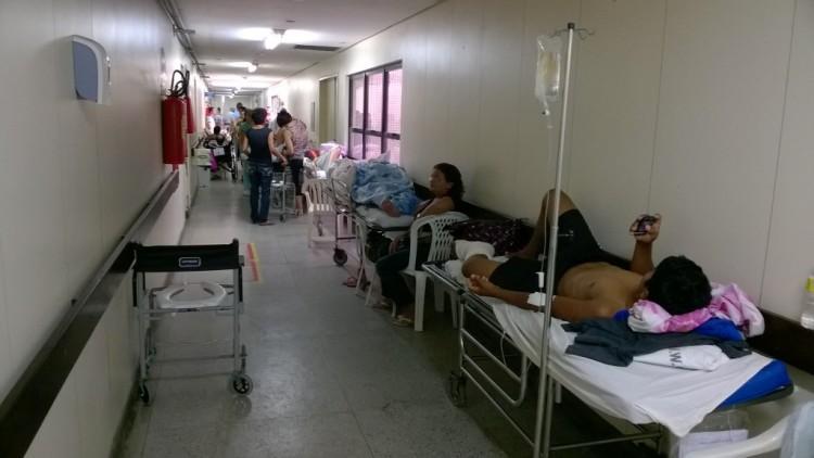 Alarmante: 200 pessoas morrem por mês no Walfredo Gurgel