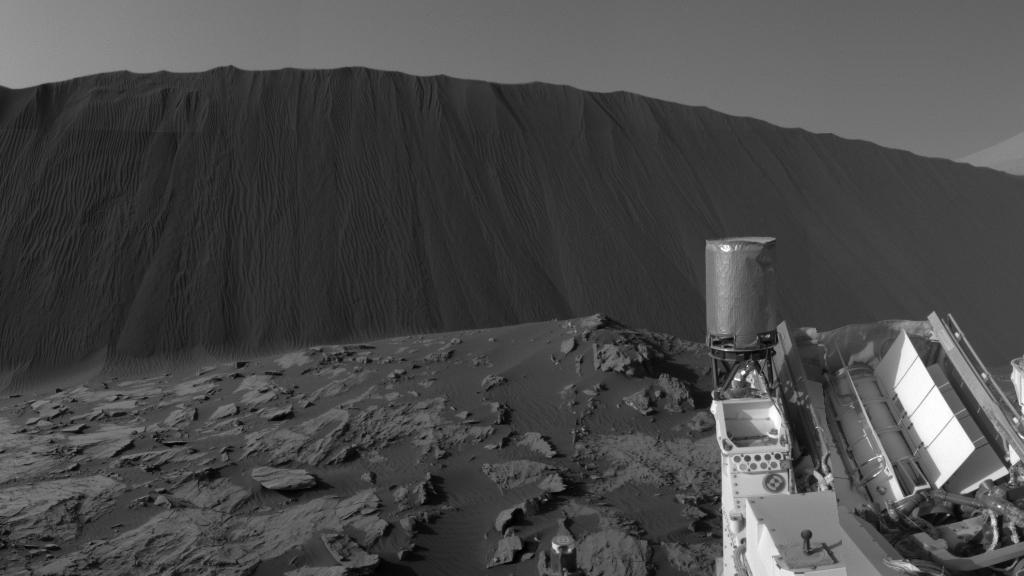 Nasa divulga imagens de Dunas em Marte