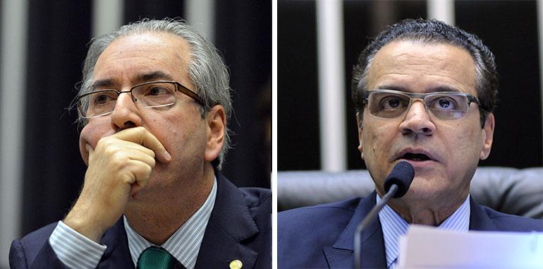 """Henrique Alves e Eduardo Cunha cobraram """"insistentemente"""" doação à OAS, diz PGR"""