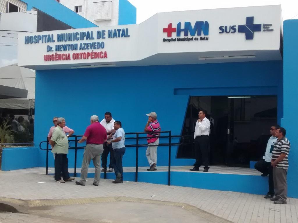 Hospital Municipal de Natal já recebe urgências ortopédicas
