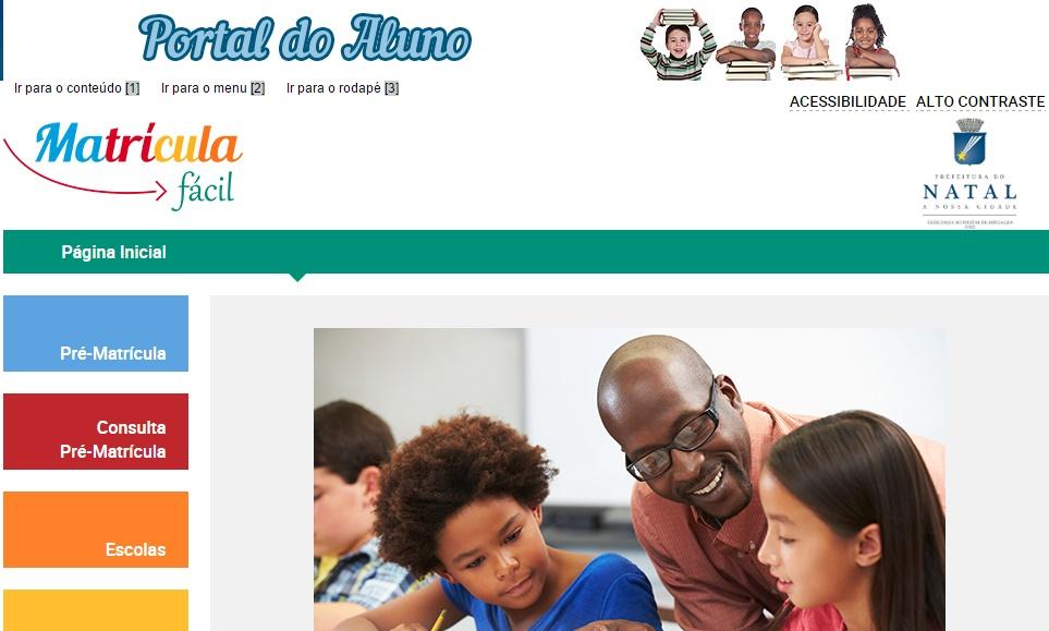 Duas escolas da rede municipal de Natal/RN disponibilizam matrícula online