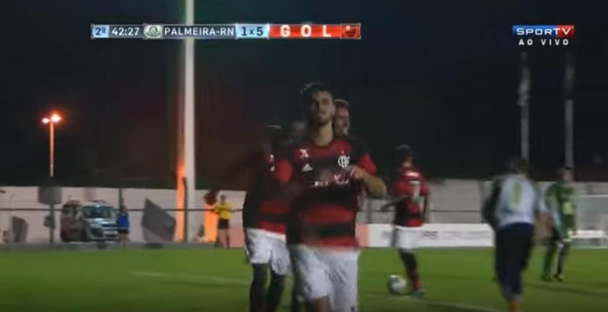 Palmeira de Goianinha é goleado pelo Flamengo/RJ na Copa São Paulo