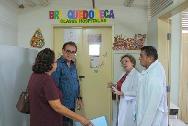 Médicos denunciam que está faltando pediatras no Walfredo Gurgel