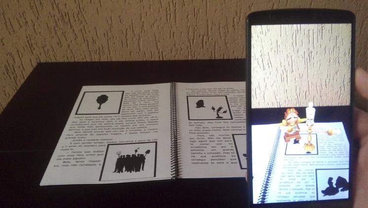 Estudantes criam aplicativo que estimula leitura infantil