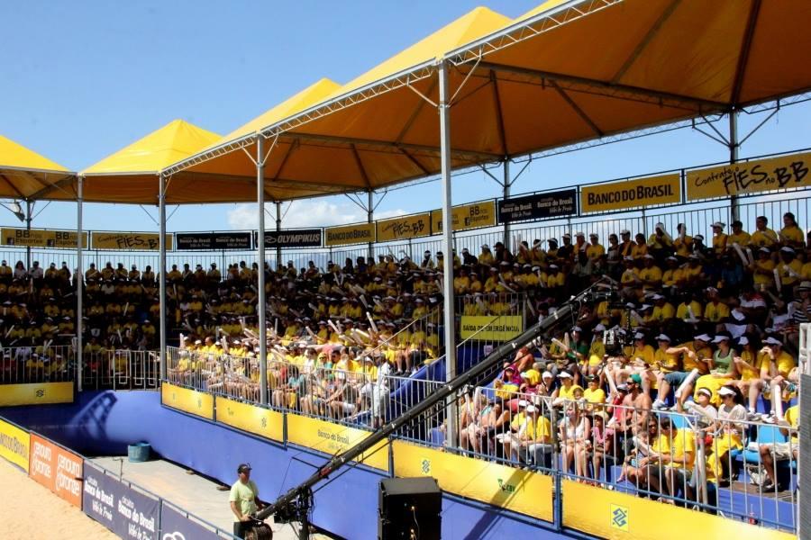 Natal volta a sediar etapa do Circuito Brasileiro de Vôlei de Praia a partir desta sexta