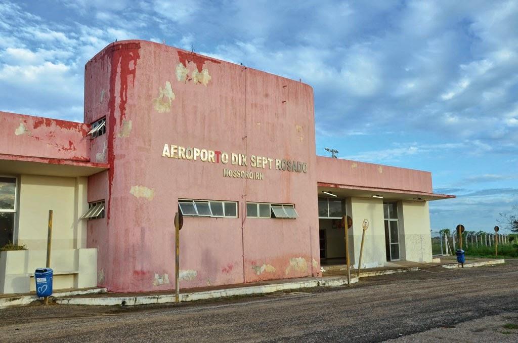 Deputado Souza Neto solicita providências para reabertura de aeroporto em Mossoró