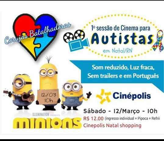 cinema para autista