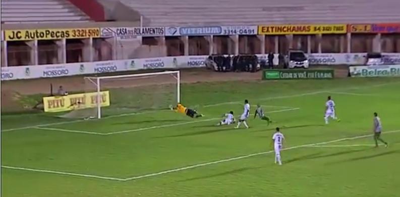 Com golaço de Fabinho Cambalhota, Baraúnas vence o ABC por 1 a 0