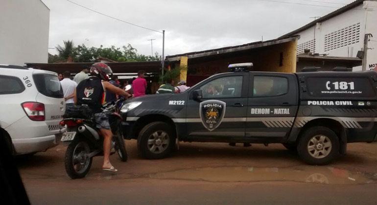 Três homens foram mortos após atentado em bar na estrada de Pium