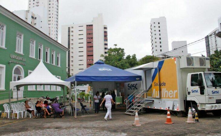 Unidade Móvel do Sesc está com vagas para mamografias gratuitas em Natal