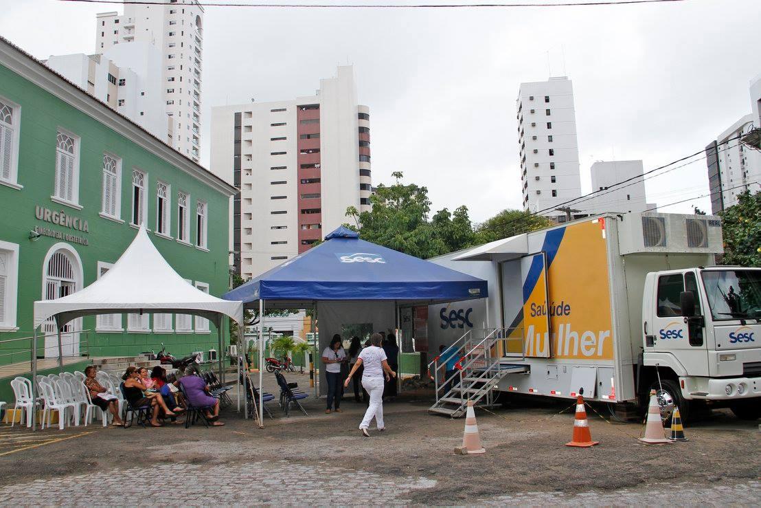 Sesc Saúde oferece exames gratuitos às mulheres na Maternidade Januário Cicco
