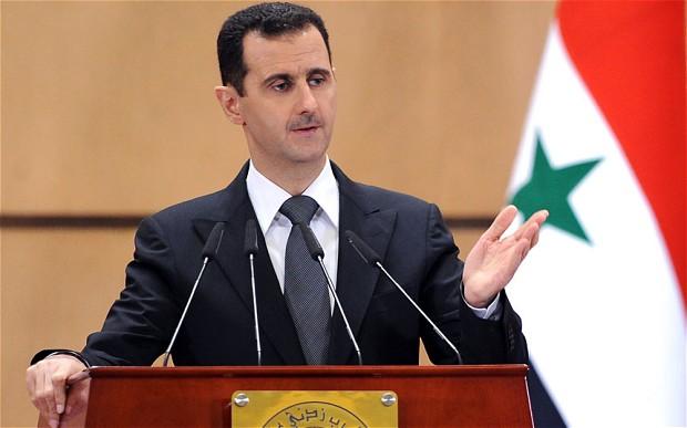 Assad critica EUA e diz que guerra não tem data para acabar