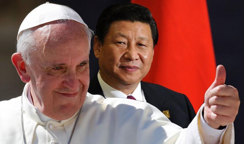 China confirma vontade de reaproximação com Vaticano