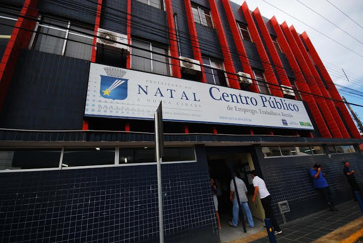Centro Público de Natal oferece vagas de emprego