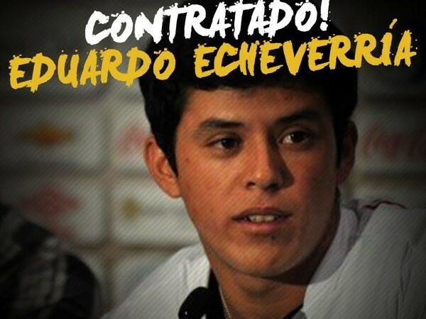 ABC contrata meia paraguaio Eduardo Echeverria