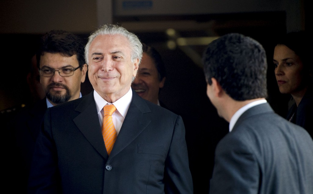 Michel Temer é reeleito presidente do PMDB