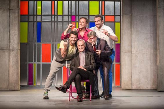 Teatro Riachuelo recebe espetáculo 5 Homens e Um Segredo